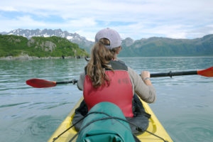 Photo of a Kenai Fjords Kayaking Tour on a Secluded Lake