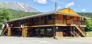 Photo of Trail Lake Lodge. Click Here to Learn More about our Fly Fishing Gifts.